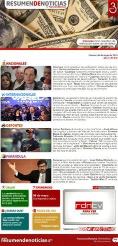 Resumen de Noticias: Martes | 06/05/2014
