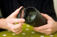 How to clean a camera lens: step 1