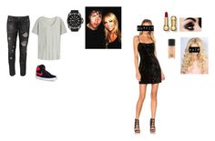 """""""Emma and Dean Party Attire"""" by thefuturemrsambrose ❤ liked on Polyvore featuring Saylor, Orlebar Brown, Paolo Pecora, Gucci, NIKE, MAC Cosmetics and DeanDedicatonDay"""