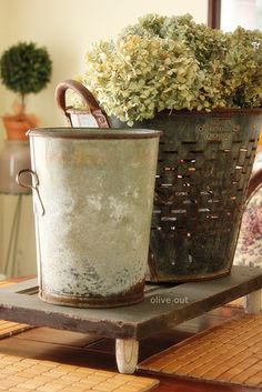 House of Hawthornes: The Many Uses For Olive Buckets