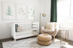Akin Design Studio   Iron Horse Nursery - Fresh, collected, modern design