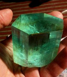 Amazing Aquamarine/Emerald from Pakistan.