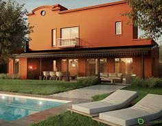 """Check out new work on my @Behance portfolio: """"Casa en el Campo"""" http://on.be.net/1Lwp767"""