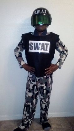 SWAT Costume for Child by TheHouseOfZuehl on Etsy, $85.00