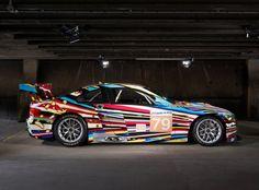 Art Car von Jeff Koons: Der US-Künstler Jeff Koons entwarf diesen BMW M3 GT2,...