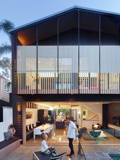 Mackay Terrace Residence in Brisbane, Australia   Shaun Lockyer Architects