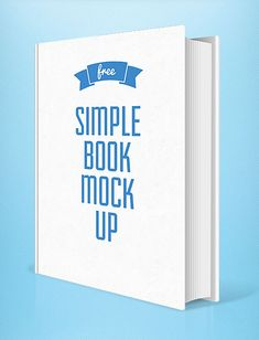 Free PSD mockups collection of Stationery mockup, iPhone, iPad mockups, magazine, business card mockups and logo mockups design. Each PSD mock-up is fully A5 Book, Best Book Covers, Free Photoshop, Business Card Mock Up, Mockup Templates, Simple, Graphic Designers, Free Design, Writers