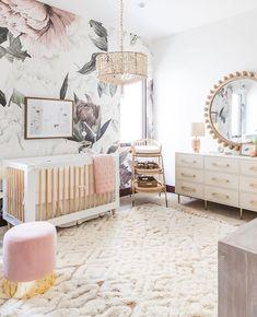 White Nursery, Baby Nursery Decor, Baby Bedroom, Baby Boy Rooms, Baby Decor, Nursery Room, Girls Bedroom, Baby Nursery Ideas For Girl, Babies Nursery