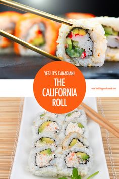 It's Canadian! A History of The Iconic California Roll Yes it's Canadian! The history of the California Roll Appetizers For A Crowd, Healthy Appetizers, Healthy Dishes, Tapas Recipes, Seafood Recipes, Appetizer Recipes, California Roll Sushi, Canadian Food, Canadian Recipes