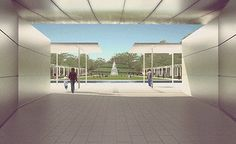 Honor Award: Unbuilt Cherie Flores Garden Pavilion by Bohlin Cywinski Jackson