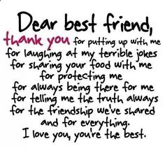 Birth Day QUOTATION – Image : Quotes about Birthday – Description 46 To Share With Your Best Friend Sharing is Caring – Hey can you Share this Quote ! best friend quotes Birthday Quotes : 46 Friendship Quotes To Share With Your Best Friend Besties Quotes, Cute Quotes, Bffs, Bestfriends, Bestfriend Goals Quotes, Hilarious Quotes, Fact Quotes, Birthday Quotes For Best Friend, Quotes For Best Friends