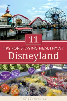 Disney makes it easy to stay active and find healthy food at Disneyland. Here are 10 ways to make the Happiest Place on Earth the Healthiest Place on Earth! Disneyland Dining, Disneyland Food, Disneyland California, Disney California Adventure, Disneyland Vacation, Disney Resorts, Disney Vacations, Hotels And Resorts, Disneyland Resort Hotel