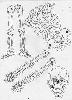 Imágenes sobre Halloween   El Rincón De Aprender Halloween Yard Art, Easy Halloween Crafts, Halloween Pumpkins, Halloween Decorations, Paper Dolls, Art Dolls, Fashion Figure Drawing, Halloween Silhouettes, Halloween Embroidery