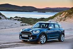 This new 2017 MINI Countryman model is a far more handsome car. It's more muscular and more chiseled, certainly the more rugged looking car. Mini Countryman, Mini Clubman, Mini Cooper Country, Mini Cooper S, Crossover, Country Man, Mini Sales, Car Posters, Poster Poster