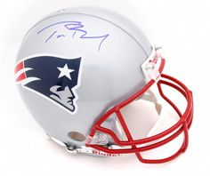 Buy Tom Brady New England Patriots Autographed Riddell Pro-Line Authentic Helmet for 1599.99$ online at http://ys-172527232-2.yahoostore.com