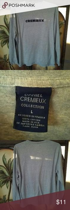 Cremieux tshirt Soft No flaws Not much wear Daniel Cremieux Shirts Tees - Long Sleeve