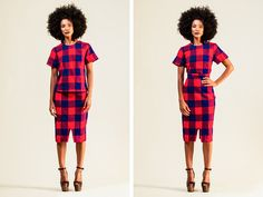 The Finders Keepers | Feature Products: Red and Blue Checks by Collective Closets
