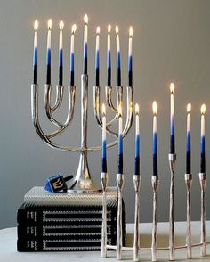 Happy first night of #Hanukkah! We wish you a wonderful holiday with family and friends! Menorah Candles, Hanukkah Candles, Hanukkah Menorah, Hannukah, Happy Hanukkah, Candle Set, Instagram Shop, Crate And Barrel, Xmas