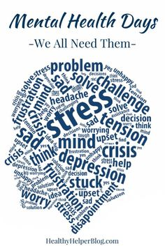 Mental Health Days are essential for those of us living with mood disorders. But honestly, I believe that mental health days are important for everyone - even if you don't have a mental illness! Nutrition And Mental Health, Mental Health Awareness, Health And Wellness, Mental Health Day Off, Health Literacy, Mental Training, Social Anxiety, Life Advice, Life Tips