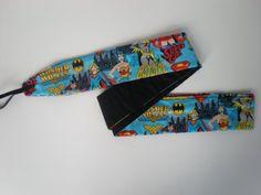 Wonder Woman Batgirl Supergirl Crossfit Wrist by HauteMessThreads, $25.00