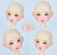 Doll Head, Disney Characters, Fictional Characters, Dolls, Disney Princess, Baby Dolls, Puppet, Doll, Fantasy Characters