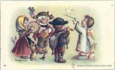 2047G - FERRÁNDIZ Nº 502 - ANTIGUA TARJETA 10,7X6,4 CM (Postales - Dibujos y Caricaturas)