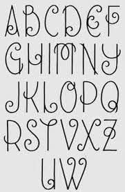 Image result for different lettering styles alphabet