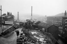 Magnum Photos -GB. England. West Yorkshire. Slaithwaite. From 'Bad Weather'. March. 1980