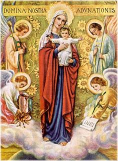 Our Lady of Atonement - (Painting by Mother Nealis of the Religious of the Sacred Heart, 1935)