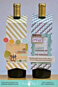 Write Snap Scrap: Holiday Wine Tags: Fancy Pants Designs