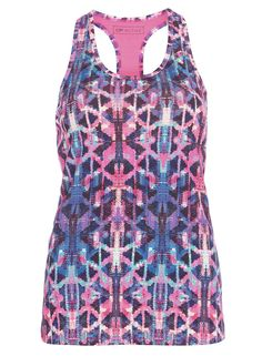 **DP Active Print Active Vest Top