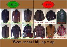 Stockverkoop @Men's -- Kemzeke -- 20/01-21/01