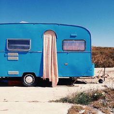 TRAILERS IN THE DESERT