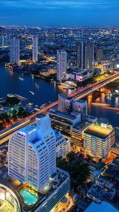 #Bangkok #Skyline - #Thailand http://en.directrooms.com/hotels/subregion/1-1-3/
