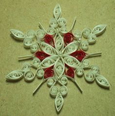 Snowflake D - Quilled Creations Quilling Gallery