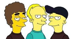Soda Stereo Soda Stereo, Planeta Rock, Welcome To My House, Bart Simpson, Rock And Roll, Humor, Backstage, Bookmarks, Masters