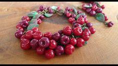 Cherry bracelet by Елена Рожкова