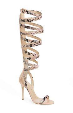 3052f454be1 Giuseppe for Jennifer Lopez Emme Knee-High Gladiator Sandal (Women) Giuseppe  Zanotti Heels