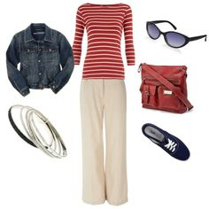 Works great for those between season days in spring and fall. Cute Summer Outfits, Casual Outfits, Cute Outfits, Airplane Travel Outfits, Soccer Mom Style, Love Clothing, Travel Clothing, Cool Style, My Style