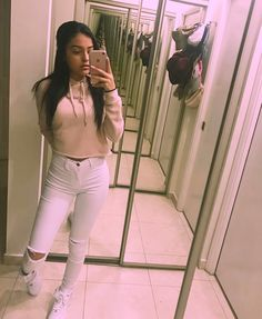 If you like what you see follow me.! Pin: @kiddneann Other Outfits, Outfits For Teens, Trendy Outfits, Cool Outfits, Summer Outfits, Fashion Outfits, Malu Trevejo Outfits, Leila, Beige Outfit