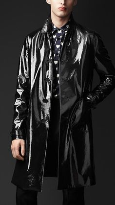 Burberry's Tailored Technical Raincoat