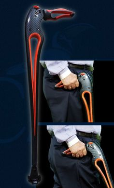 Introducing the Tucane® by Ergoactives Orthopedic Devices  A breakthrough design matched by features that mimic the hip's natural movement while providing stability at any angle. The Tucane® has an automatic spring mechanism that automatically pushes the cane forward as the user lifts the cane from the ground. Basically, Tucane® walks by itself and the user requires NO STRENGHT OR FORCE to walk with it!