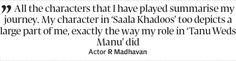 I think Pakistani dramas are phenomenal: Madhavan - The Express Tribune