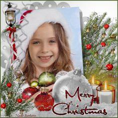 Glamour Christmas frame