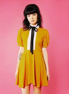 Jolie Dress (Yellow)