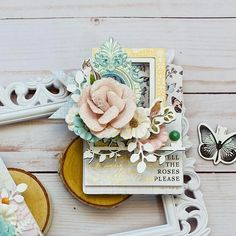 From Design Team Member DG @dgdangina Today at Prima Marketing Inc. we are creating Cards, Tags and ATC's!! I decided to try my hand at ATC's using the gorgeous Nature Lover collection! The flowers are my favorite!! Click to check out our products #primamarketinginc #createwithprima #PrimaMarketing #Prima #PrimaFlowers #scrapbook #mixedmedia #art #embellishment #flowers Prima Marketing, Paper Houses, A4 Paper, Team Member, Moon Child, Atc, Scrapbook Paper, Embellishments, Create