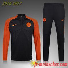 Le Nouveau:Survetement de Manchester City Enfant Orange 2016 2017  fr-moinscher Football Tracksuits 5e86a1947cd87