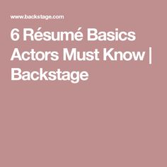 Free Beginner Acting Resume Sample ResumecompanionCom  Acting