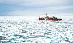 Coast Guard Louis St. Laurent in the Arctic