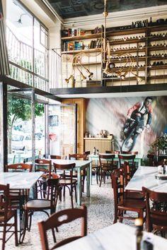 Συνοικία Κουκάκι Loft, Bed, Islands, Table, Greece, Furniture, Home Decor, Greece Country, Decoration Home